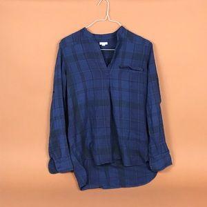 Flannel gap top